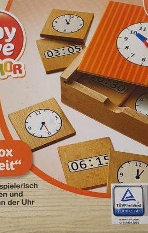 """Lernbox """"Uhrzeit"""""""